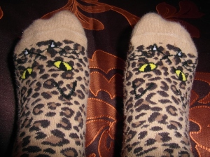 How could you not love such fabulous socks?